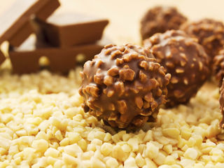 Ferrero Rocher homemade