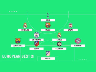 EUROPEAN BEST XI