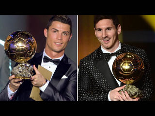 Ballon d'Or Ronaldo Messi
