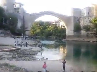 Stari most Mostar 11/08/2016 printscreen YT