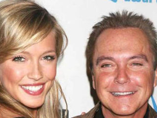 Katie and David Cassidy 2007
