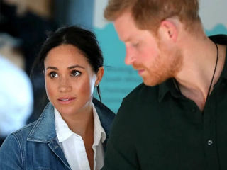 Meghan i Harry casual