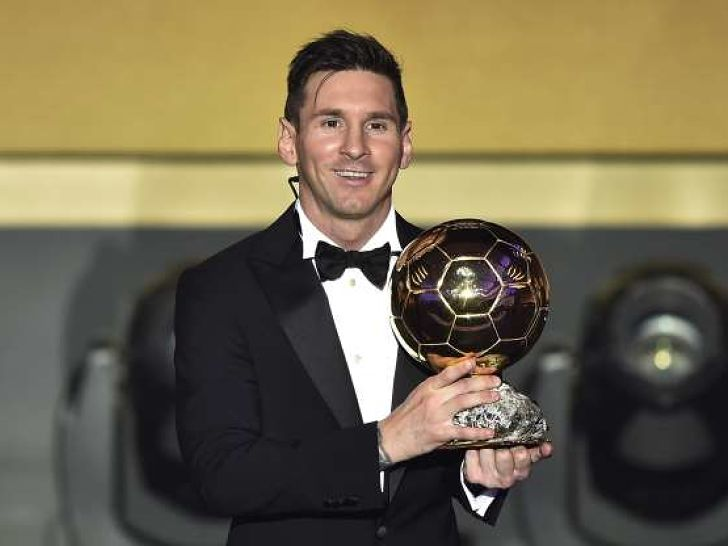 Messi Ballon d`Or