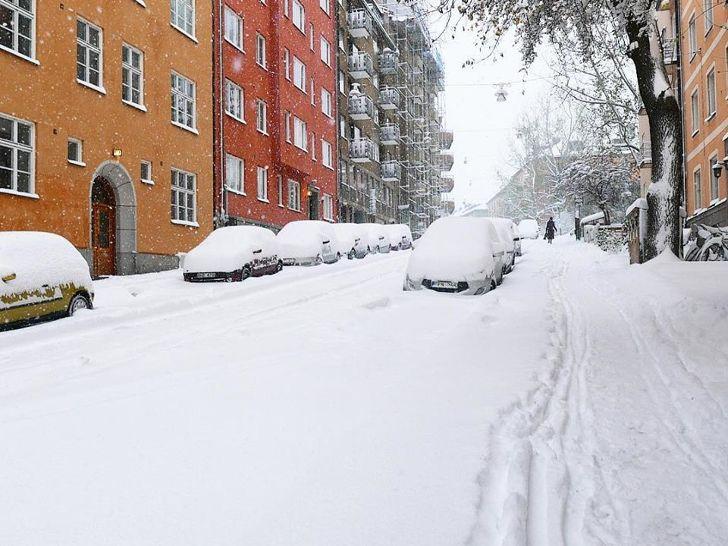 Snijeg Stockholm 09/11/2016 3
