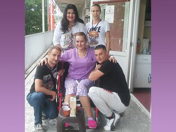 Voditeljka Danijela Gudović , Danijela Gudović, voditeljka, bolest, operacija, diskus, invalidska kolica, lecenje,tv lice
