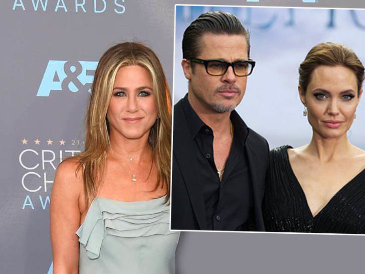 Jennifer Aniston Brad i Angelina