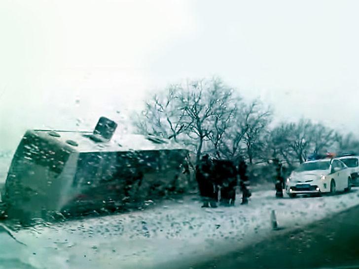 Autobus nesreća Rusija 04/12/2016