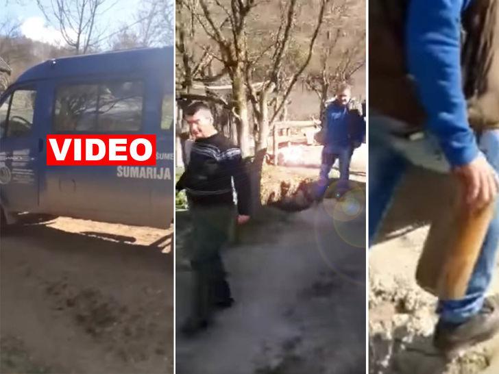 DA LI JE SRAMOTA? Dedi Sulji, koji je izgubio sina u RATU U BiH, šumari  oduzeli pola metra drva!