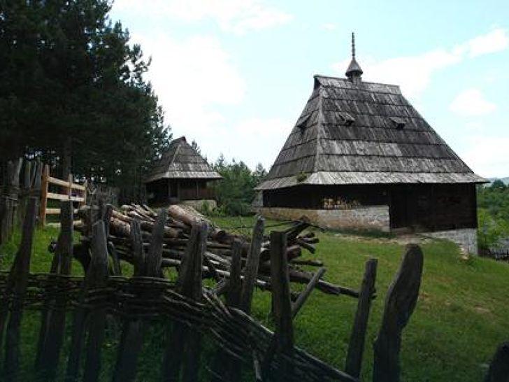 Seoska kuća Srbija