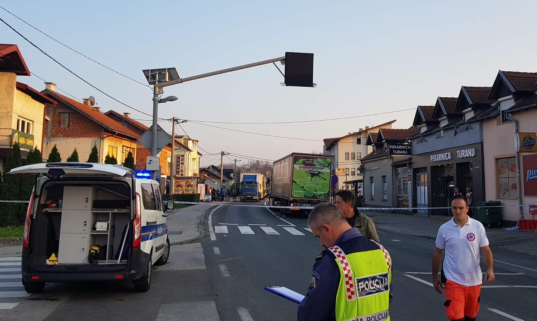 Karlovac šleper nesreća 13/10/2018a