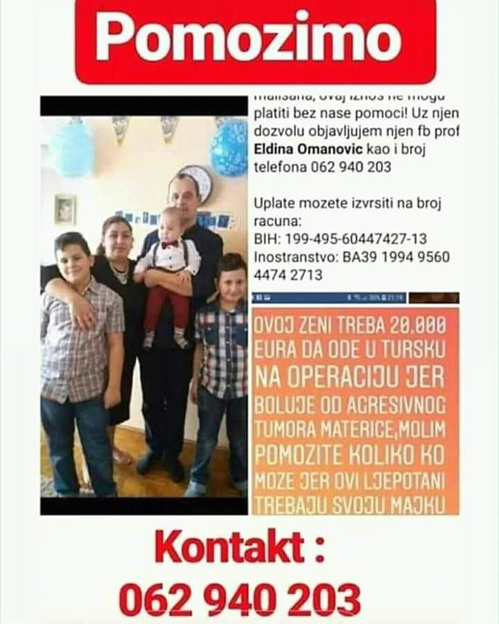 Eldina Omanović humanitarna akcija 1