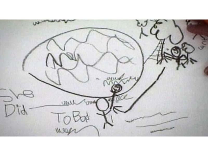 STRAŠAN SLUČAJ: Dječak nacrtao crtež zbog kojeg je njegova mama dobila  kaznu doživotnog zatvora!